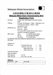 MWA open 2012 entry form